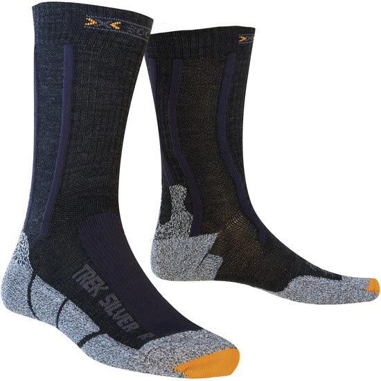 Xsocks Trekking Silver - Black/Antracite