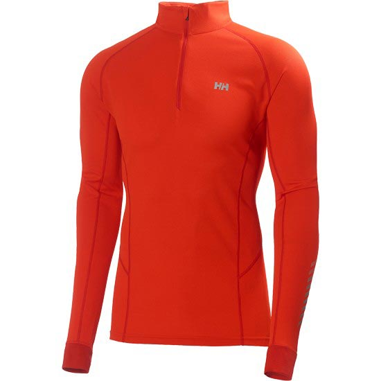 Helly Hansen HH Dry Charger 1/2 Zip - Sunrise