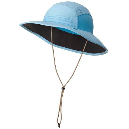 Mountain Hardwear Chiller Wide Brim Hat W - Blue