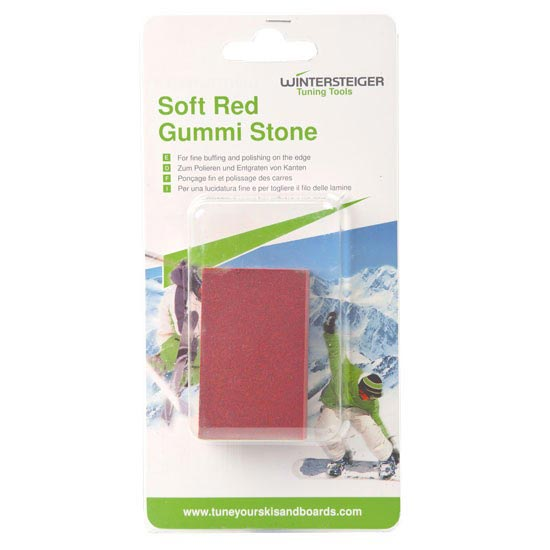 Wintersteiger Soft Red Gummi Stone 40x20x65mm -