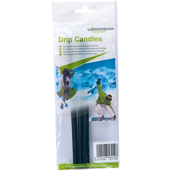 Wintersteiger Drip Candles Black (3 barres) -