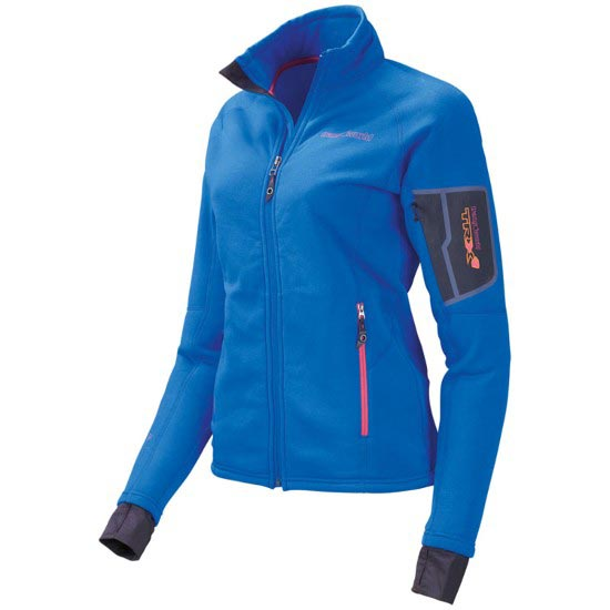 Trangoworld Chaqueta TRX2 Stretch W - Bleu