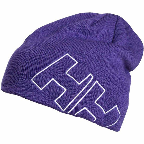 Helly Hansen Outline Beanie Jr - Purple