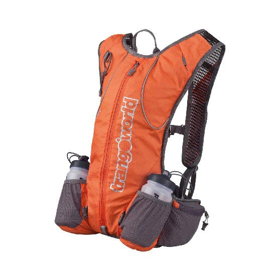 Trangoworld Mochila Deron 10 - Orange Foncé/Gris