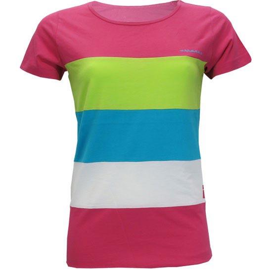 Trangoworld Camiseta Shield W - Raspberry Sorbet