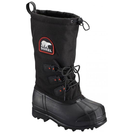 Sorel Glacier XT - Black/Red Quartz