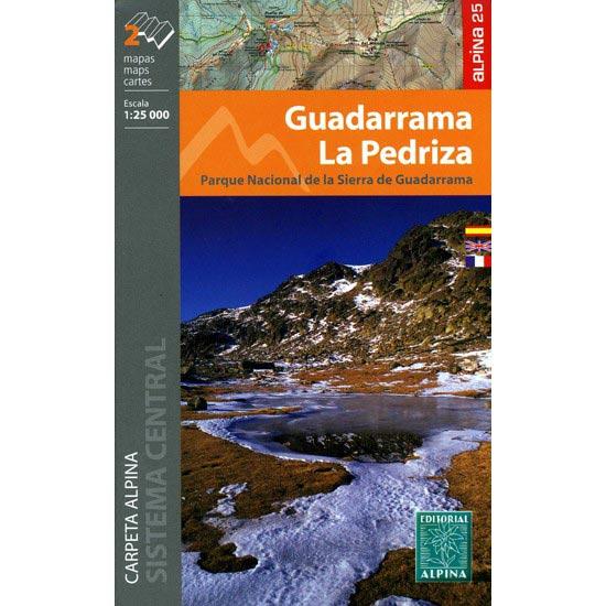 Ed. Alpina Mapa x 2 Guadarrama La Pedriza 1:25000 -