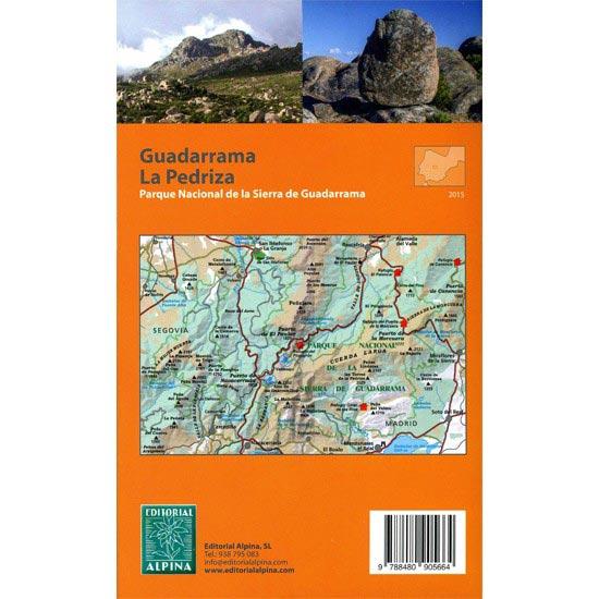 Ed. Alpina Mapa x 2 Guadarrama La Pedriza 1:25000 - Photo of detail