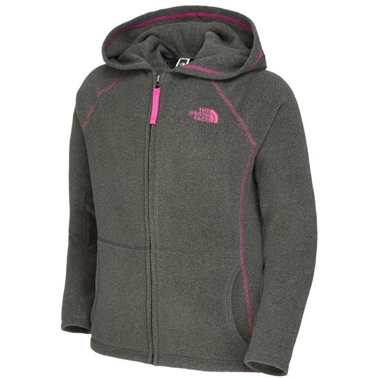 The North Face Glacier Full Zip Hoodie G - Graphite Grey Heather
