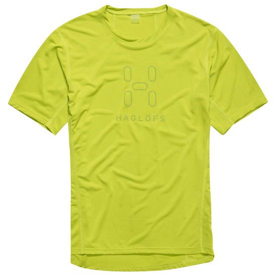 Haglöfs Intense Logo Tee Men - Glow Green