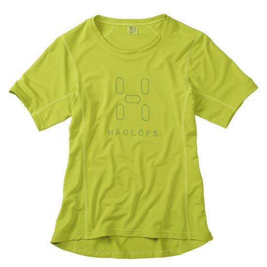 Haglöfs Intense  Logo Tee W - Glow Green