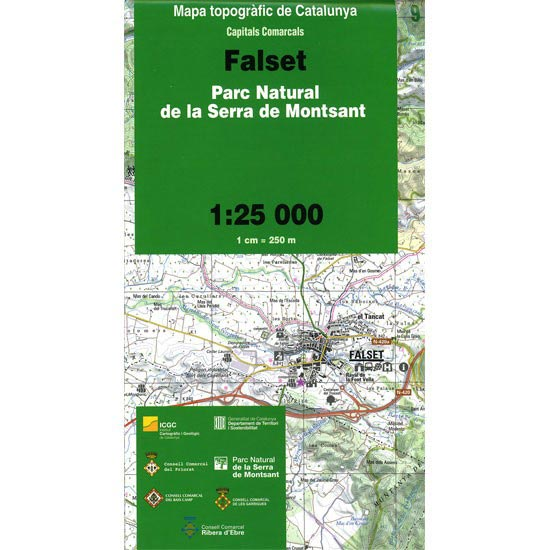 Icc (catalunya) Mapa Falset Montsant 1:25000 -