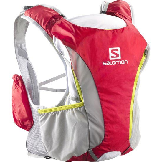 Salomon Skin Pro 10+3 SET - Bright Red/White/GGreen