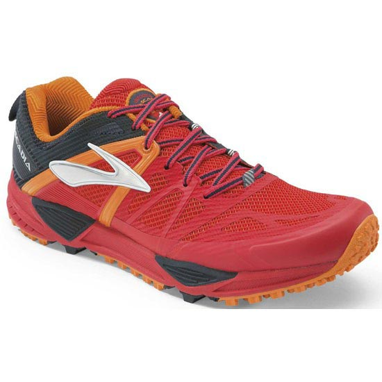 Brooks Cascadia 10 - High Risk Red/Satsuma/Black