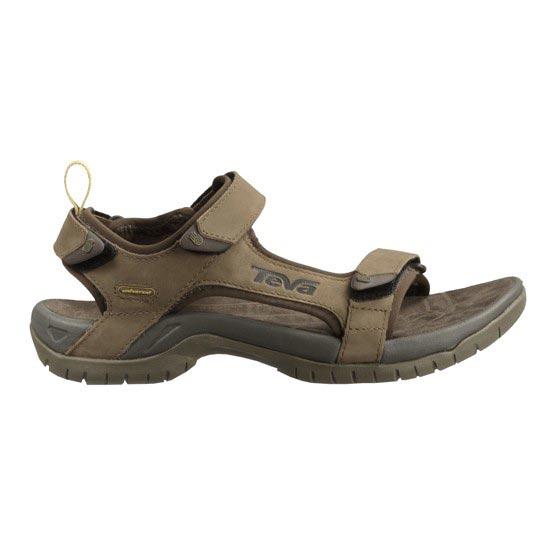 Teva Sandale Tanza Leather Brown - Brown