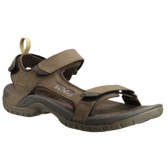 Teva Sandale Tanza Leather Brown - Photo de détail