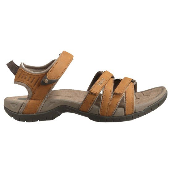 Teva W Tirra Leather Sandals - Rust