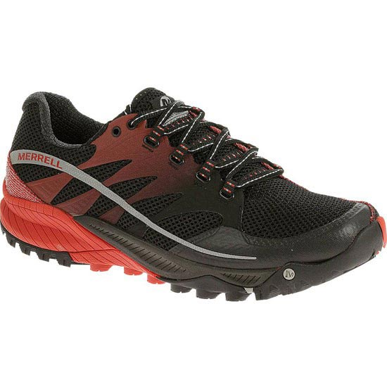Merrell All Out Charge - Black/Molten Lava