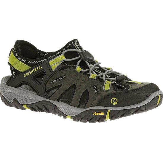 Merrell All Out Blaze Sieve - Castle Rock/Green Oasis