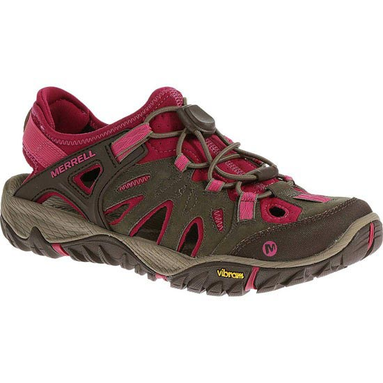 Merrell All Out Blaze Sieve W - Boulder/Fuchsia