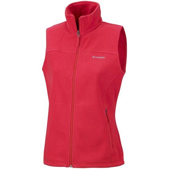 Columbia Fast Trek Fleece vest W - Red Hibiscus