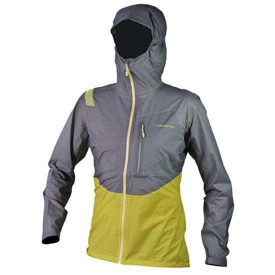 La Sportiva Hail Jacket - Nugget/Grey