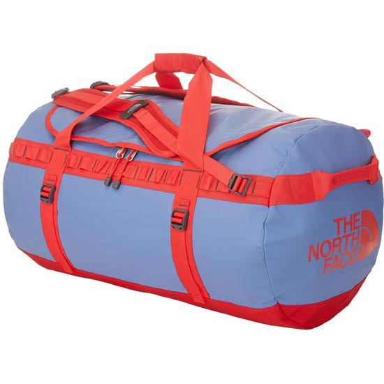 The North Face Base Camp Duffel L - Vintage Blue/Tomato Red