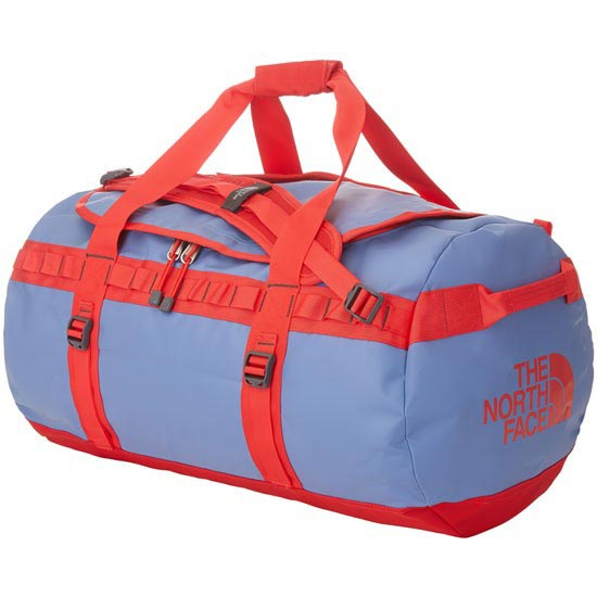 The North Face Base Camp Duffel - M - Vintage Blue/Tomato Red