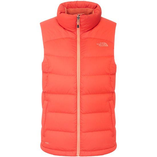 north face chaleco mujer