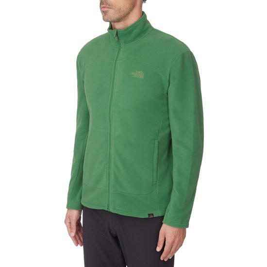 The North Face 100 Glacier Full Zip - Foto de detalle