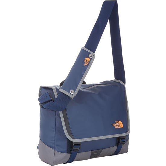 The North Face BC Messenger M - Cosmic Blue/Power Orange