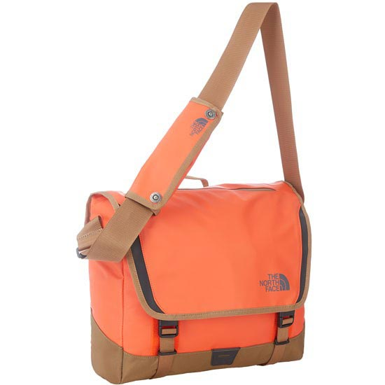 The North Face BC Messenger M - Acrylic Orange/Utility Brown