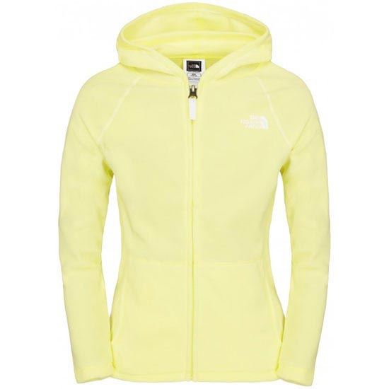 The North Face Glacier Full Zip Hoodie G - Amachi Yellow
