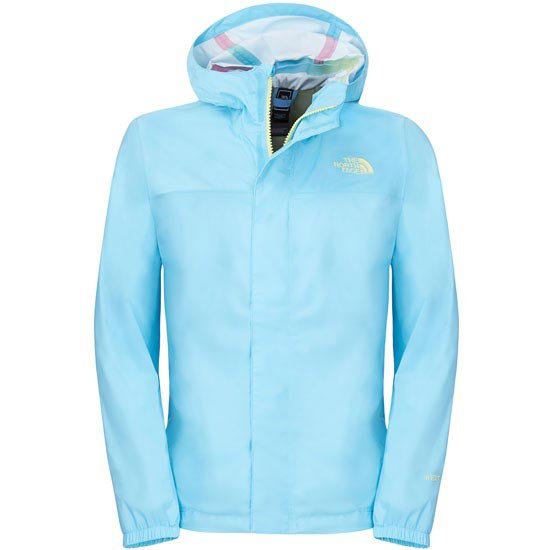 The North Face Zipline Rain Jacket G - Fortuna Blue