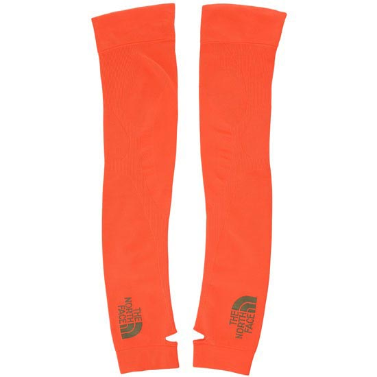 The North Face Seamless Arm Warmers - Power Orange