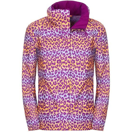 The North Face Uncia Resolve Jacket G - Iris Purple Multi Print
