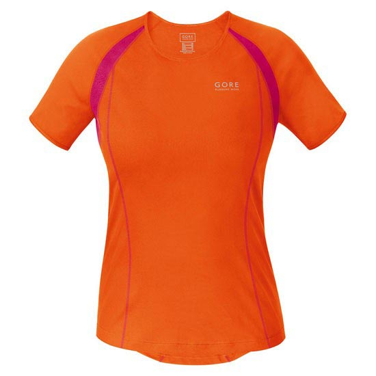 Gore Running Wear Essential 3.0 Lady Shirt - Blaze Orange