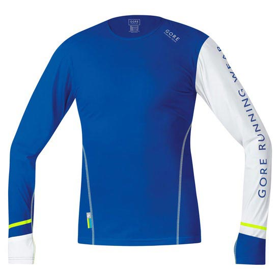 Gore Running Wear X-Run Ultra Long - Brilliant Blue/White