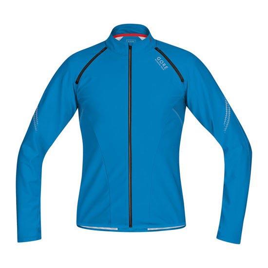 Gore Running Wear Magnitude Windstopper Soft Shell - Splash Blue