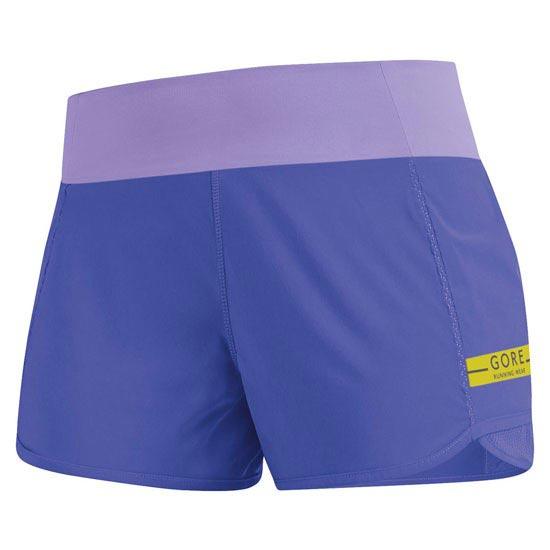 Gore Running Wear Air Lady Short W - Speed Blue/Violet