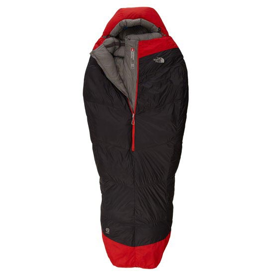 The North Face Inferno -40F/-40C - Asphalt Grey/Centennial Red