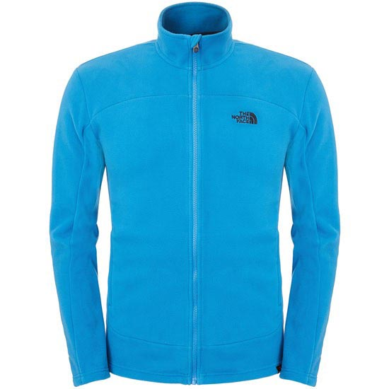 The North Face 100 Glacier Full Zip - Heron Blue