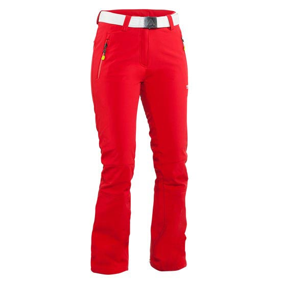 8848 Altitude Denise Softshell Pant W - Red