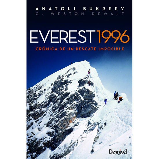 Ed. Desnivel Everest 1996. Crónica rescate imposible -