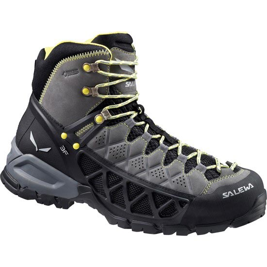 Salewa Alp Flow GTX - Smoke/Yellow
