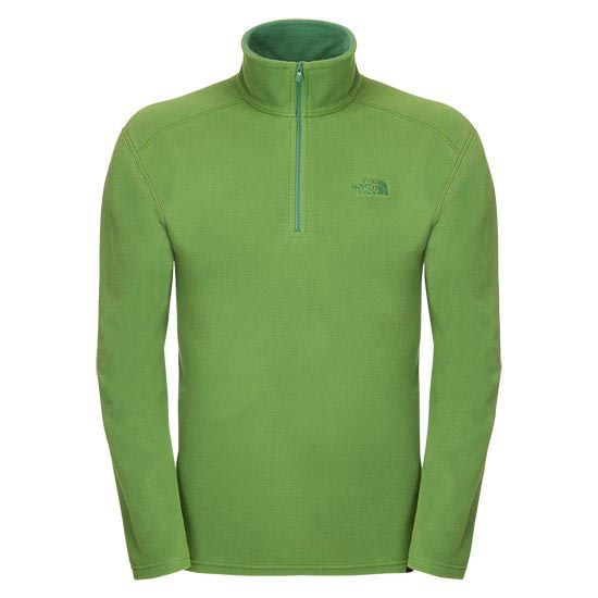 The North Face 100 Glacier 1/4 Zip - Adder Green