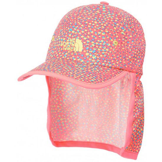 The North Face Youth Party In The Back Hat - Fortuna Blue Multi Print/Sugary Pink