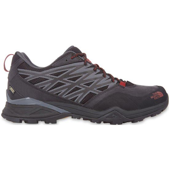 The North Face Hedgehog Hike GTX - Zinc Grey/Rosewood Red