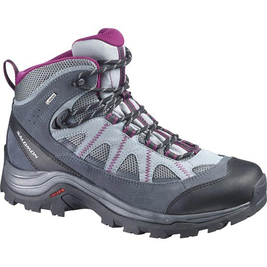 Salomon Authentic Ltr Gtx W - Pearl Grey/Grey Denim/Mystic Purple
