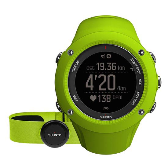 Suunto Ambit 3 Run (HR) - Lime